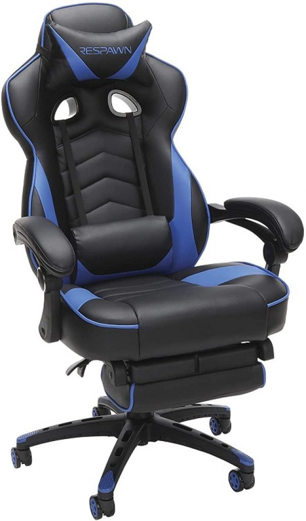 RESPAWN-110-Blue-Gaming-Chair-with-Footrest-1