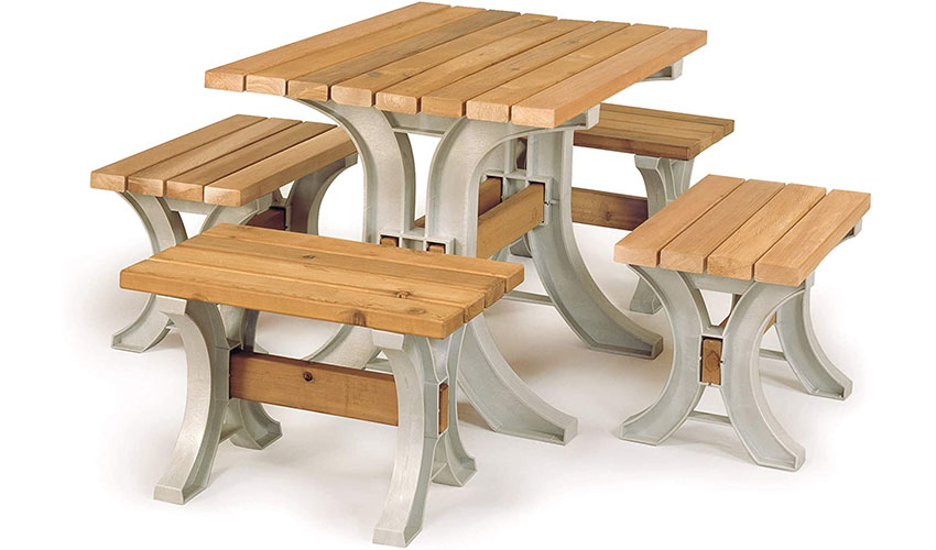 Cedar Wood Picnic Table