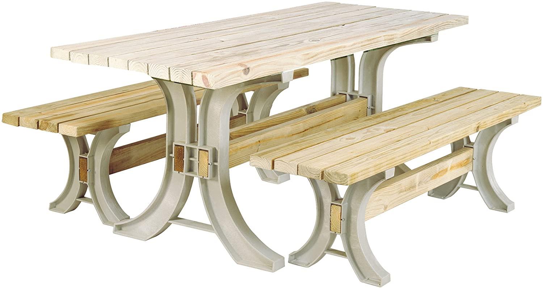 Yellow Pine Picnic Table