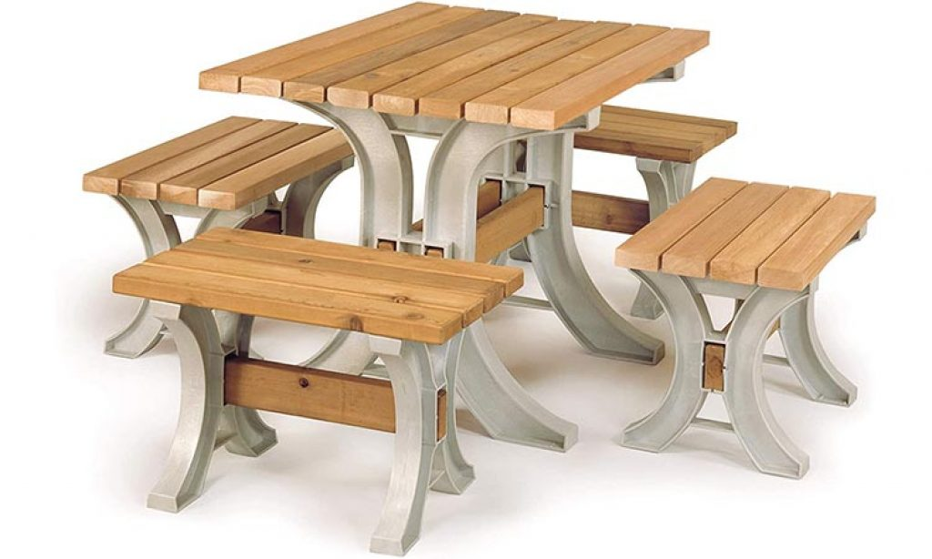 Yellow Pine Wooden Table